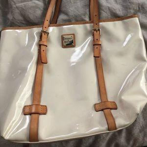 Dooney & Bourke cream colored purse